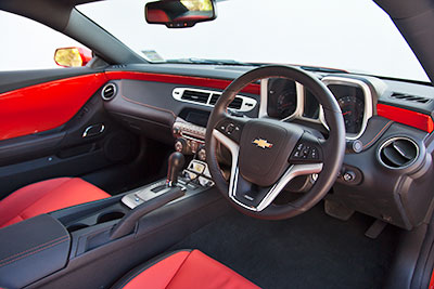 2011 Camaro Right Hand Drive Interior