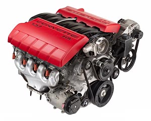 2006 Corvette Z06 engine