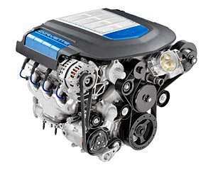 Corvette ZR1 Supercharged V8 Engine