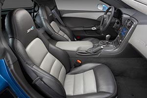 2009 Corvette ZR1 Coupe Interior