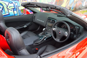 2011 Corvette Grand Sport right hand drive interior