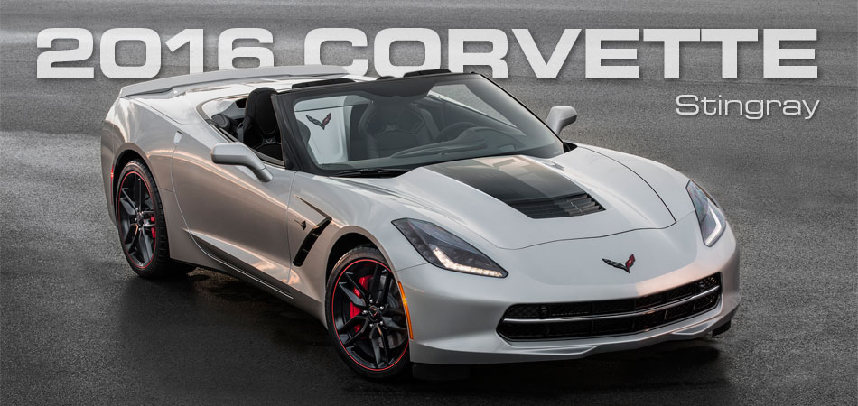 2016 Corvette Stingray Right Hand Drive