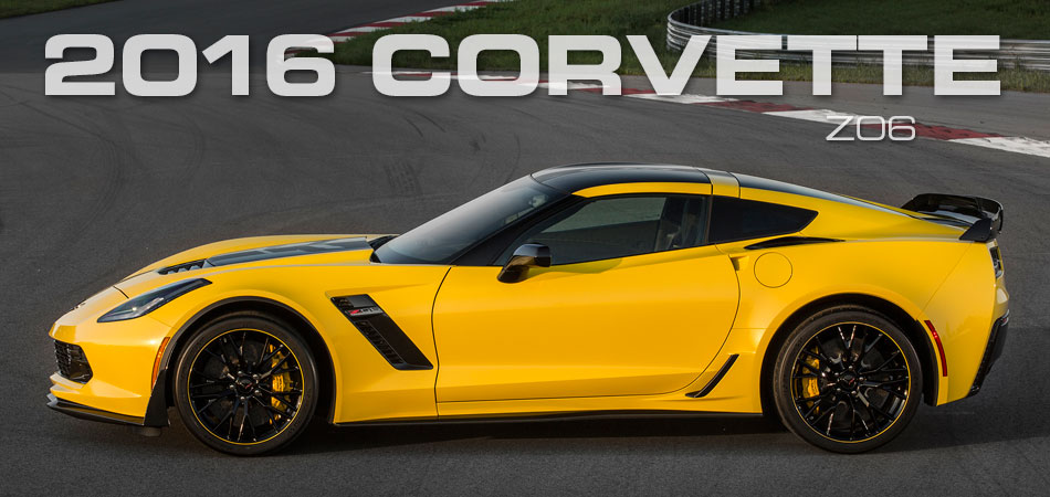 2016 Corvette Z06 Right Hand Drive