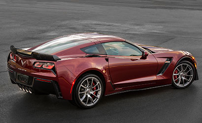 2016 Corvette Z06 Spice Red Design package