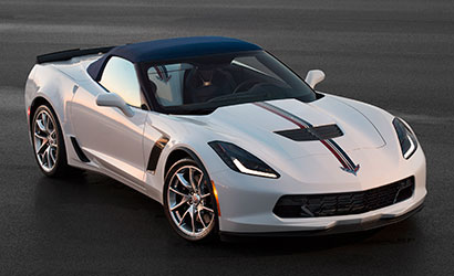 2016 Corvette Z06 Twilight Blue Design Package