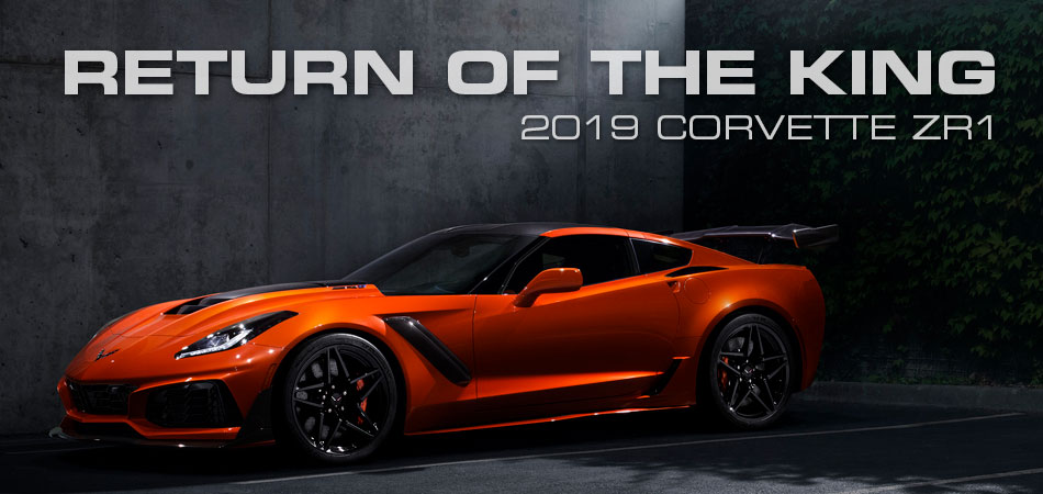 2019 Corvette ZR1 Right Hand Drive