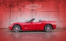 Right Hand Drive Corvette Convertible